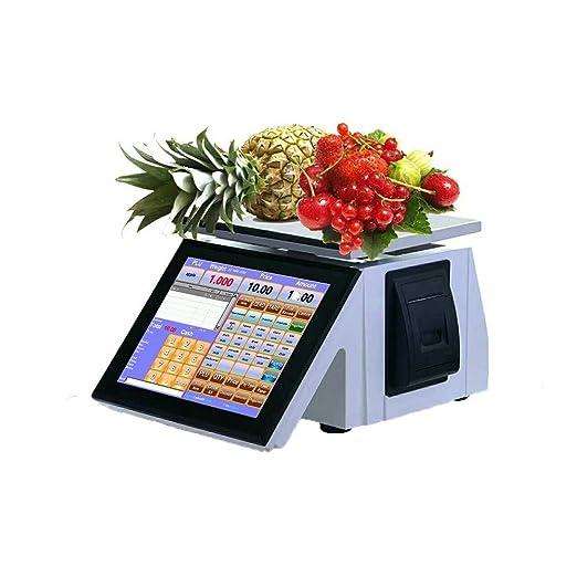 Bascula frutera Comercio Escala electrónica multifunción Digital ...