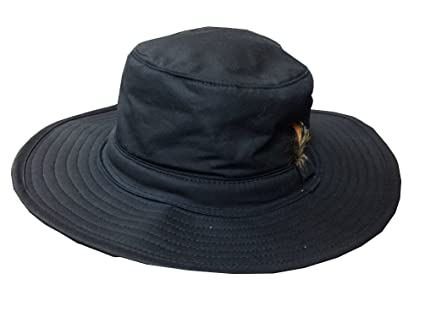 Jack Murphy Mens Aussie Waterproof Waxed Cotton Country Trilby Hat