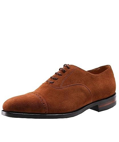 Loake Hombres zapatos de oxford de cadogan ante UK 7 Marrón qz6mB64fGk