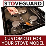 Stove Protector for Samsung Ranges (GAS ONLY) - Stove Liner | ULTRA-THIN | Gas Stove top Range Protector | Range Burner Cover | Nonstick, Dishwasher Safe