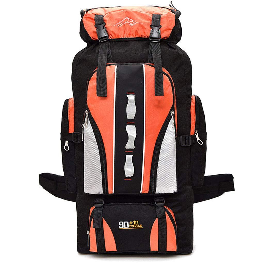 Orange  XTAYNE de plein air Product Sac d'alpinisme Sac Multi-Fonction ImperméAble Oxford pour Hommes Et Femmes en Plein Air Grande Capacité Voyage Escalade éQuitation Sac à Dos