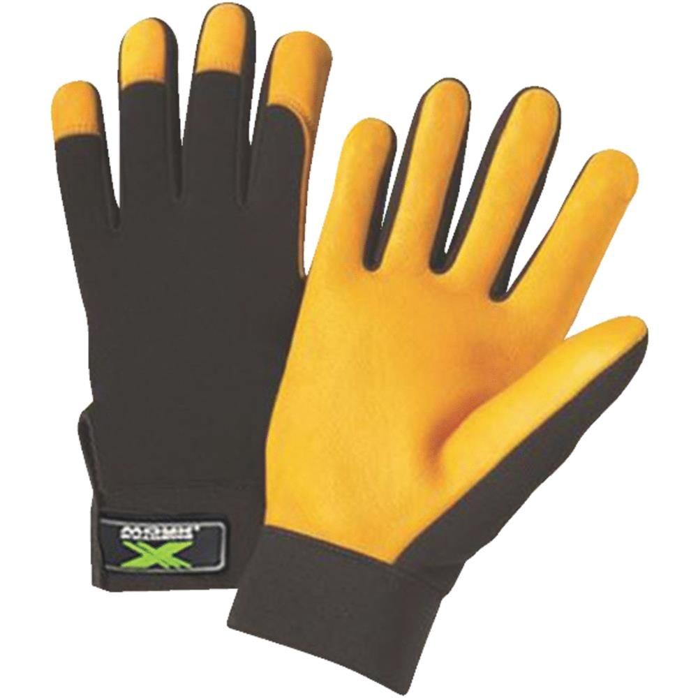 WEST CHESTER 86405-L Deerskin Grain Glove, Large