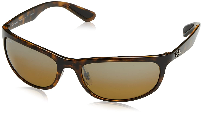 1b86c944e0 Ray-Ban RB4265 Chromance Lens Wrap Sunglasses