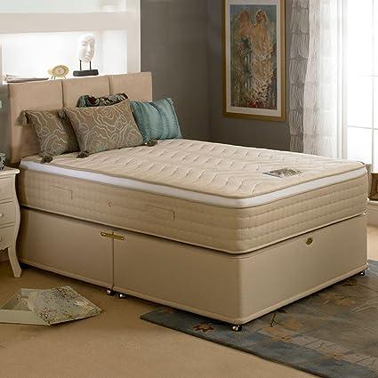 Camas de lujo TENTACIONES 3000 memoria diván cama, King Size
