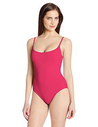 0a7dc7ef52a Anne Cole Color Blast Lingerie Maillot One-Piece Swimsuit Cranberry ...