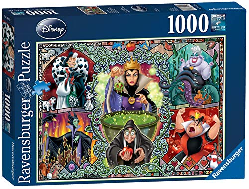 Ravensburger Disney Wicked Women, 1000pc Jigsaw Puzzle -