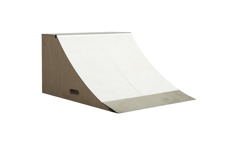 amazon com 3ft wide quarterpipe skateboard ramp wood