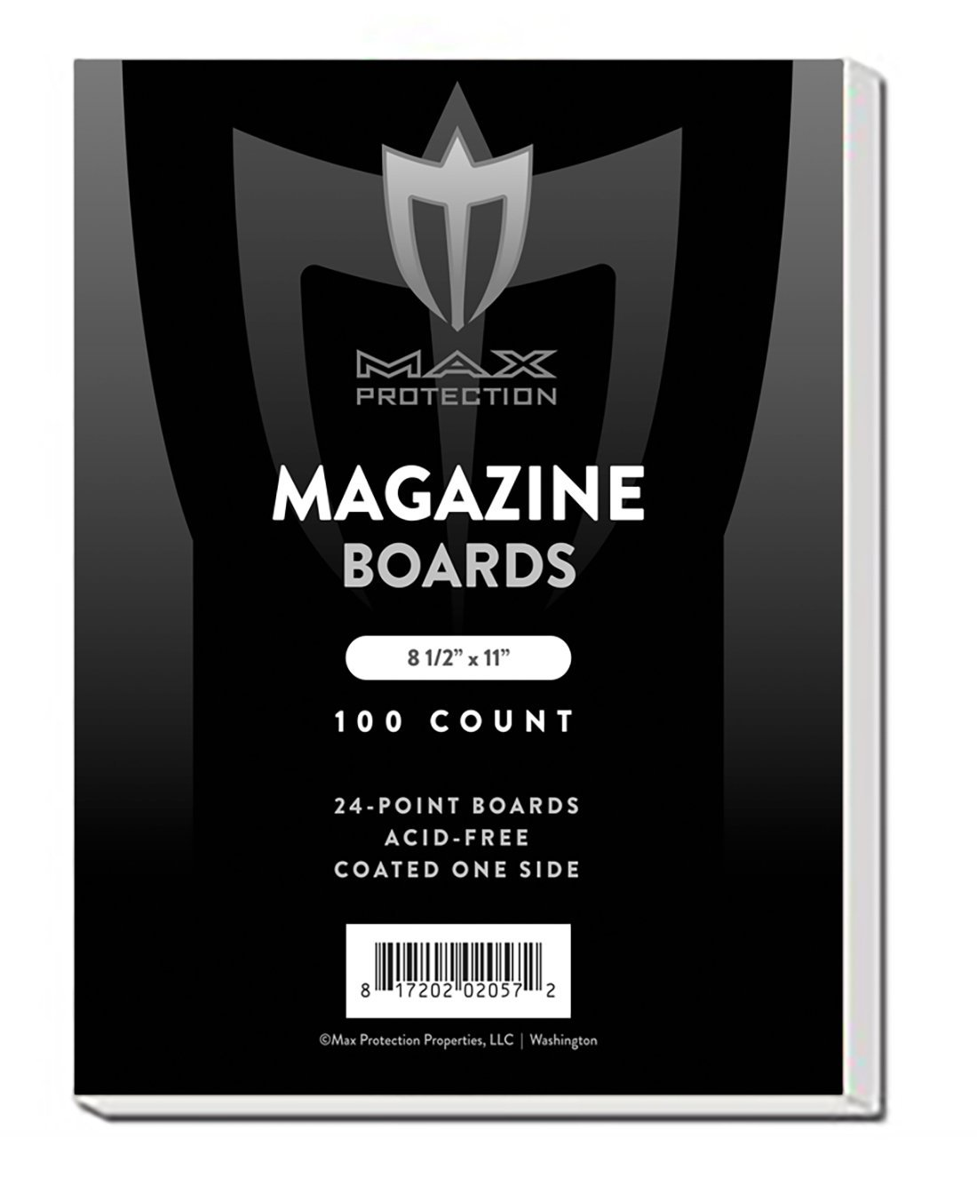 Magazine Backing Boards (100 Count), 8.5 x 11'' - Acid Free Archival Safe