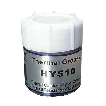Cooler Disipador para CPU PC térmica plata pasta de silicona grasa conductiva: Amazon.es: Electrónica