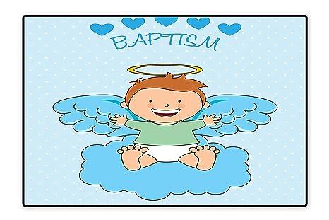 Amazon.com: Alfombra de baño grande para bebé que duerme en ...