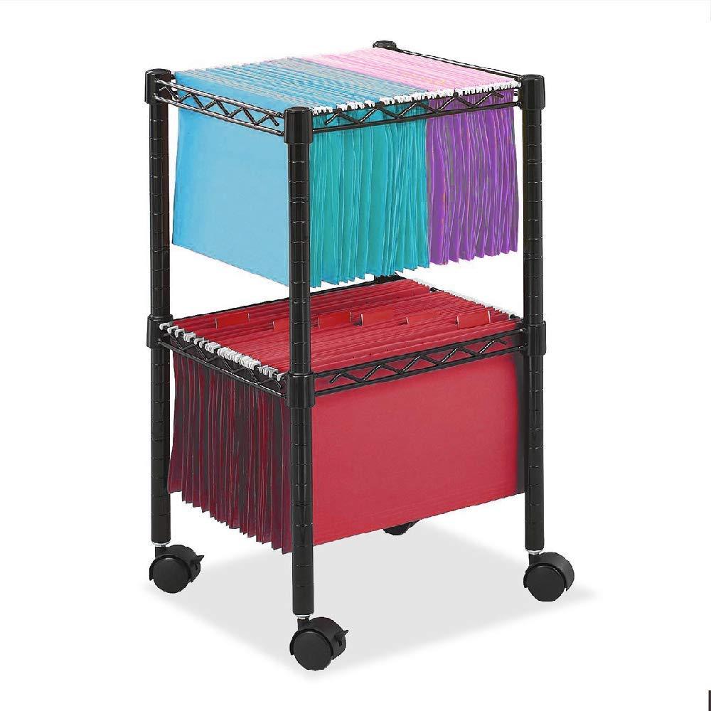 2 Tier File Cabinet Folder Drwer Filing Modern Organizer DWR Office Dwaer Furniture & Ebook by AllTim3Shopping