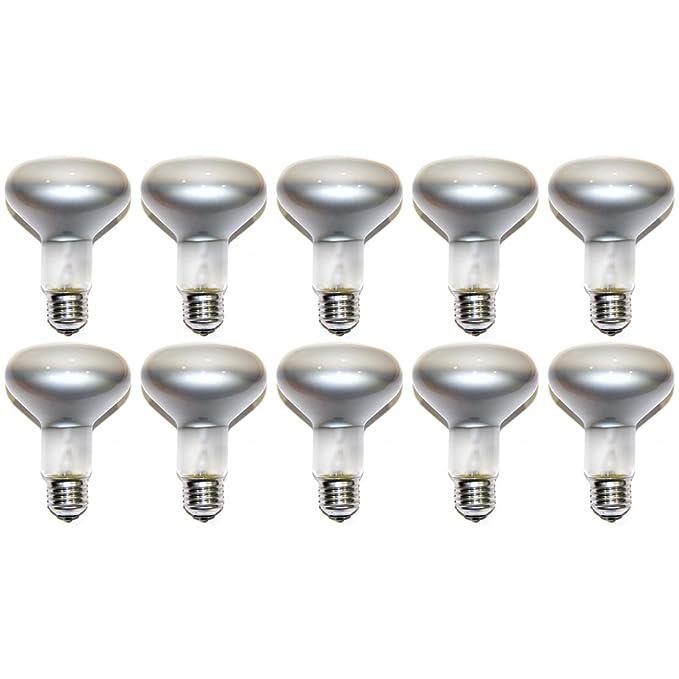 10 x Ampoules à incandescence réflecteur spot r80 e27 75W ampoule à incandescence 75 w