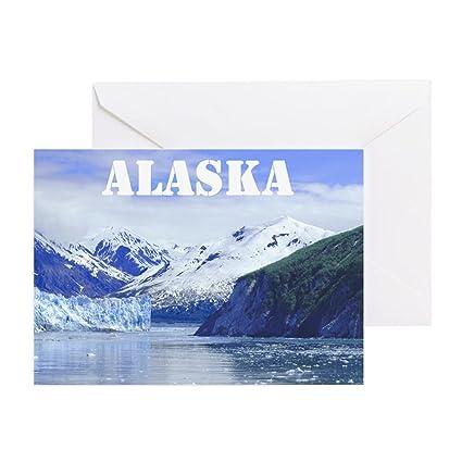CafePress - Tarjeta de felicitación, diseño de Alaska con ...