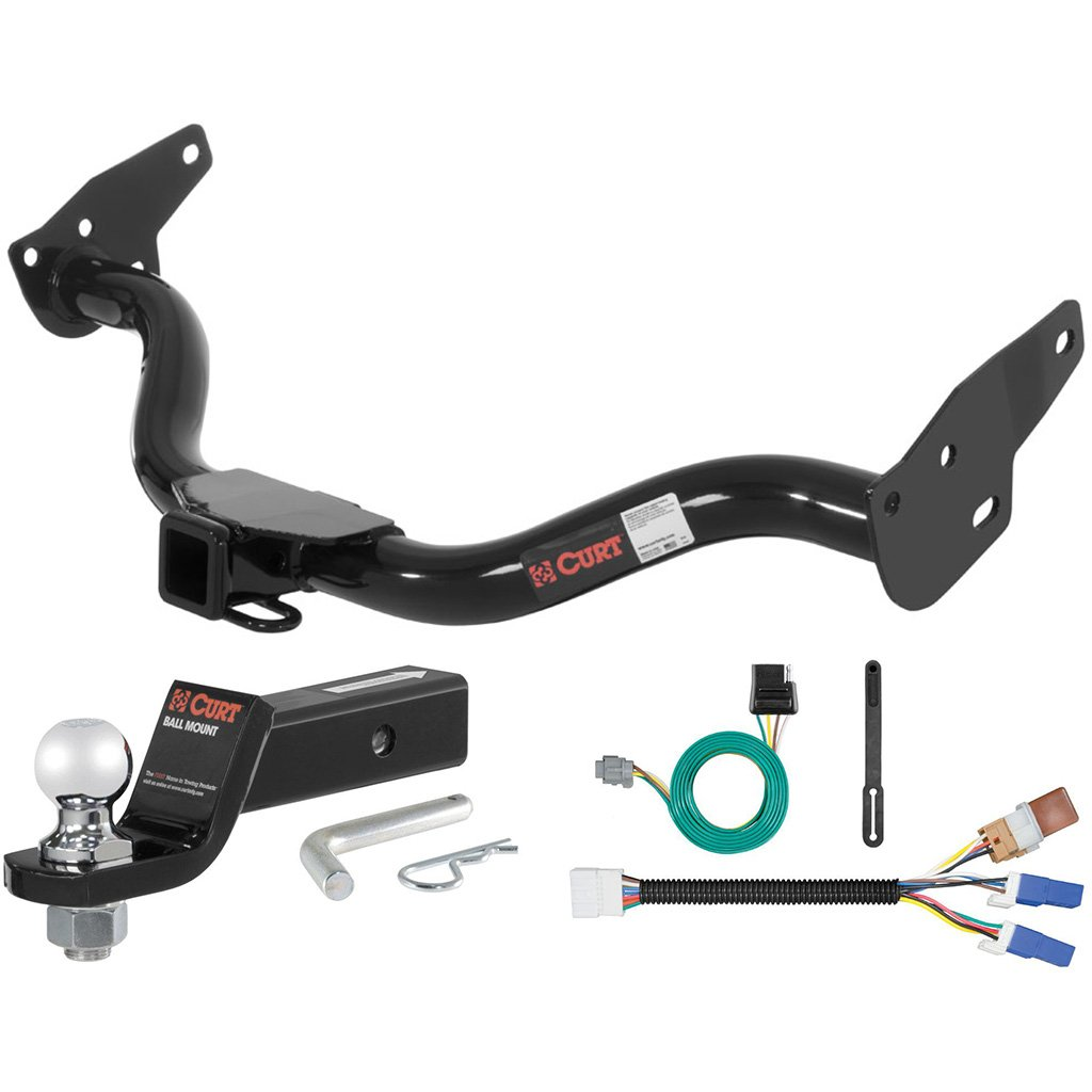 Curt Class 3 Trailer Hitch Tow Package With 2 Ball For 2013 Nissan Frontier Wiring 2005 2015 Xterra Automotive