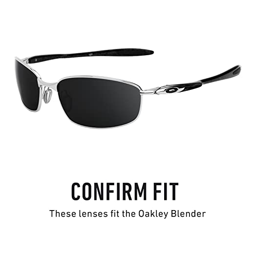 a4a79e5be3 Revant Replacement Lenses for Oakley Blender Elite Adapt Grey Photochromic   Amazon.co.uk  Clothing