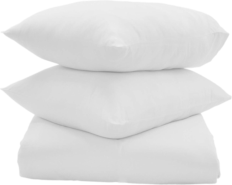 Callista 600 Thread Count 100 Cotton Soft Sateen Weave Duvet Set Super King White Amazon Co Uk Kitchen Home