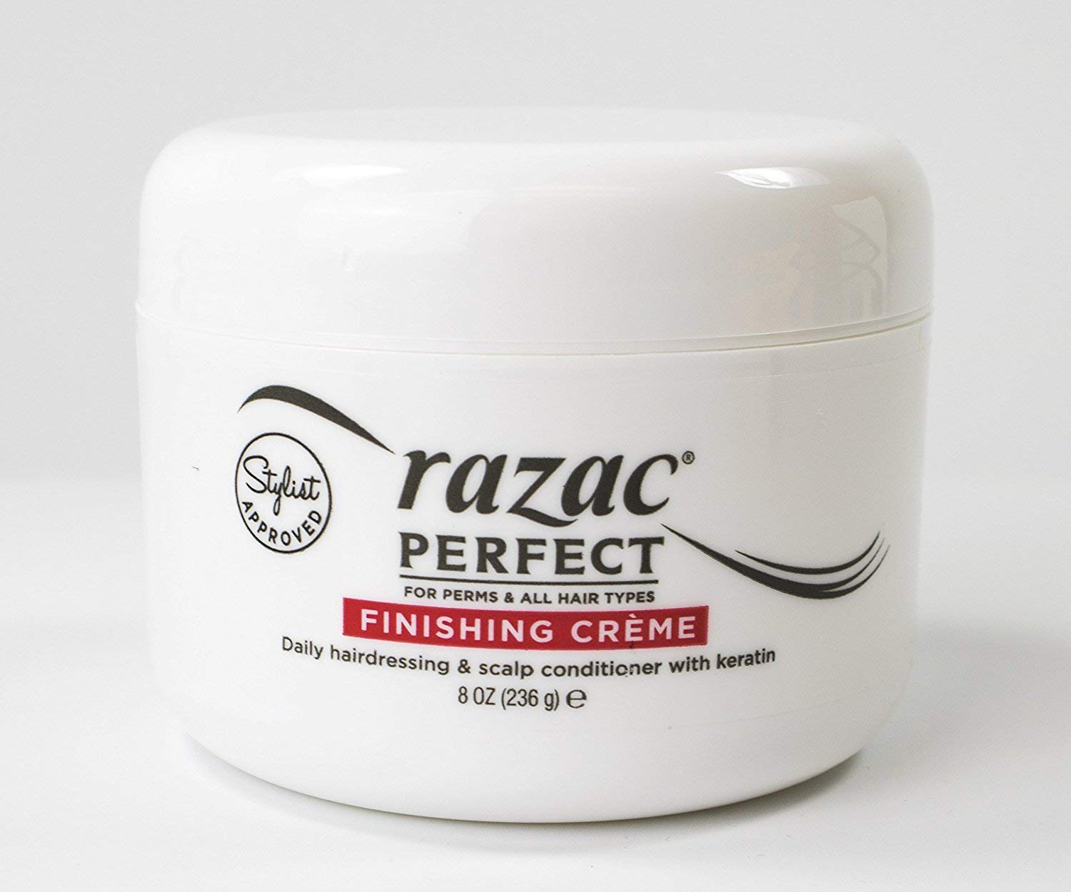 Razac Perfect For Perms Finish Creme 8 Ounce (235ml) (6 Pack)