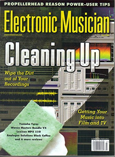 Electronic Musician Magazine, July 2003 (Vol. 19, No. 8) ()