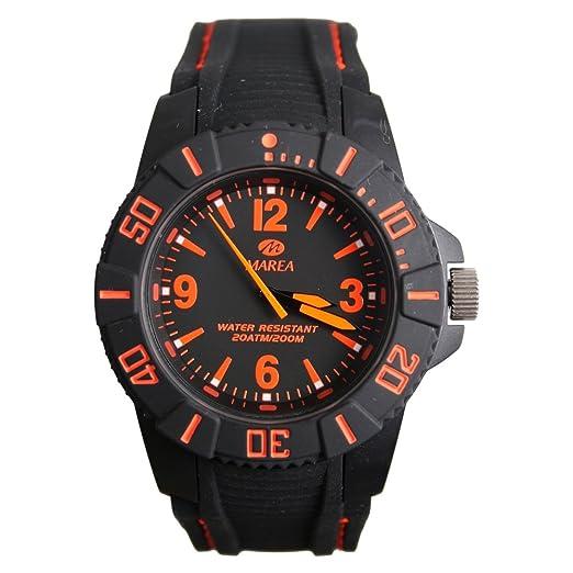Marea B35232/5 - Reloj de Pulsera de Hombre, Correa de Silicona: Amazon.es: Relojes