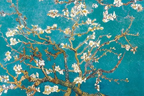 YISUMEI 20 x 32 Indoor Outdoor Front Door Bathroom Mats Almond Branches in Bloom