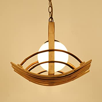 Bamboo chandeliers southeast asia simple pastoral ceiling lamp glass bamboo chandeliers southeast asia simple pastoral ceiling lamp glass shade living room restaurant bedroom personality study aloadofball Image collections