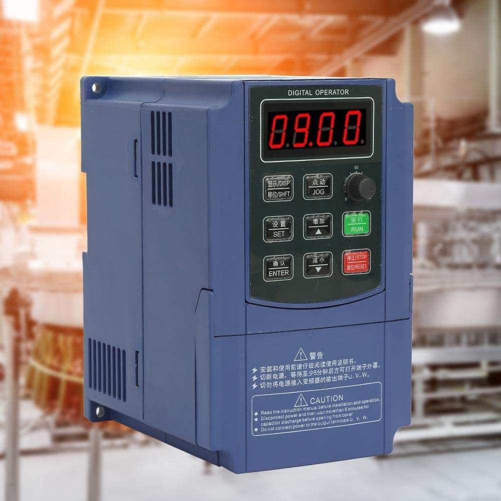 Professional Inverter Controller for 3 Phase Motor Speed Control Variable Frequency Drive LHQ-HQ VFD Motor 2.2KW 3 Phase Input CNC Converter