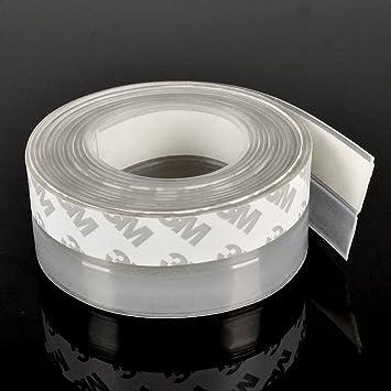 Burlete proyecto tapón sin marco ventana puerta corredera Sash sellado de cinta de silicona de goma: Amazon.es: Bricolaje y herramientas