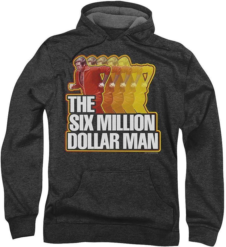 Six Million Dollar Man - Herren laufen schnell Hoodie