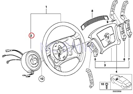 Amazon Com Bmw Genuine Slip Ring Automotive