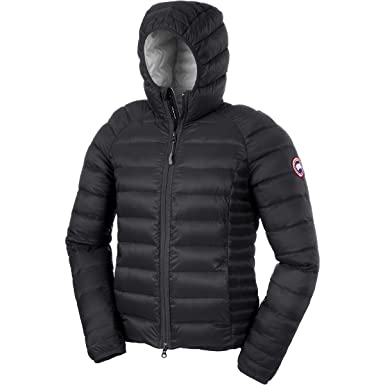 fce5650910ac Canada Goose Women s Brookvale Black Fabric Down Jacket with Hood L(INT)  Black