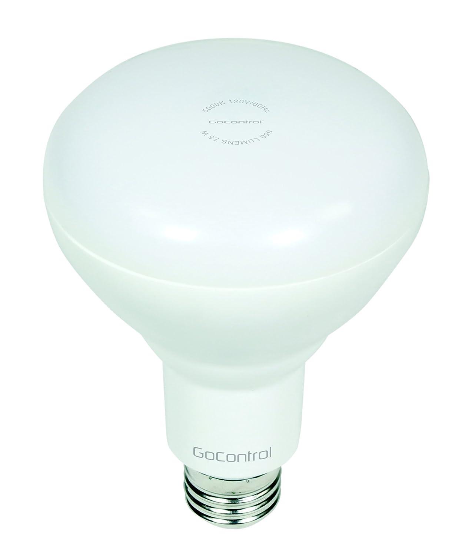 GoControl Bulbz Z-Wave Dimmable BR30 LED Indoor Flood Light - LBR30Z-1