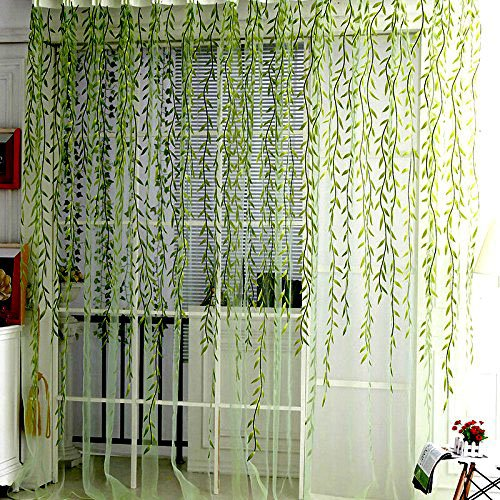 Willow Voile Tulle Window Curtain 78
