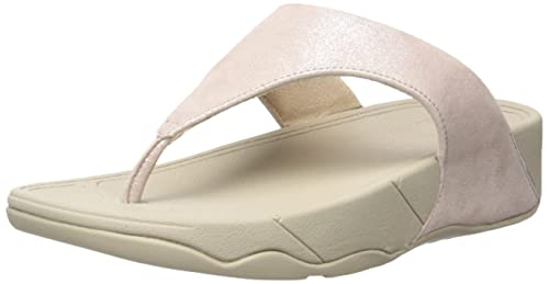55df4a519875 FitFlop Women s Lulu Shimmersuede Flip Flop  Buy Online at Low ...