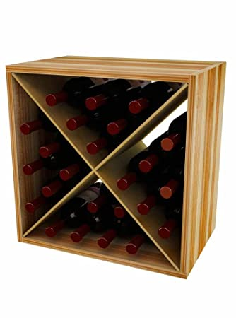 24 Bottle Wine Storage Cube  sc 1 st  Amazon.com & Amazon.com: 24 Bottle Wine Storage Cube: Home u0026 Kitchen