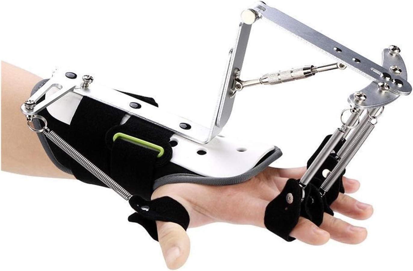 Ortesis para Dedos, Corrector De Postura Ajustable Finger Splint Support Soporte De Rehabilitación De Mano (Color : B)