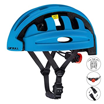 Insheng Plegable Casco Bicicleta Ciudad y Viajero Compartir Bicicleta Casco Ciclismo Casco