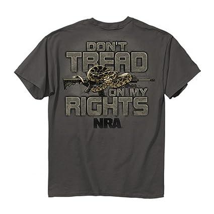 93dc47b1 Amazon.com: Buckwear NRA Don't Tread On Me Snake SS T-shirt ...