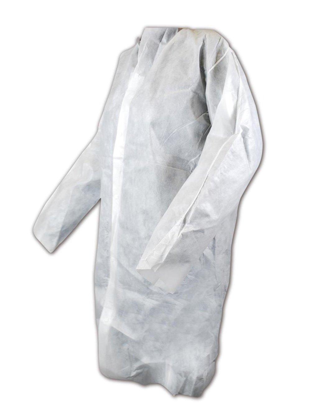 3 Disposable Polyethylene Apron Pack of 100 Magid Glove /& Safety DA2845W Magid EconoWear White 28 x 45 2 Mil Blue 28x45