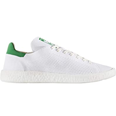 e60ed3b06f7d adidas Unisex Adults  Stan Smith Boost Primeknit Low Neckline Sneaker