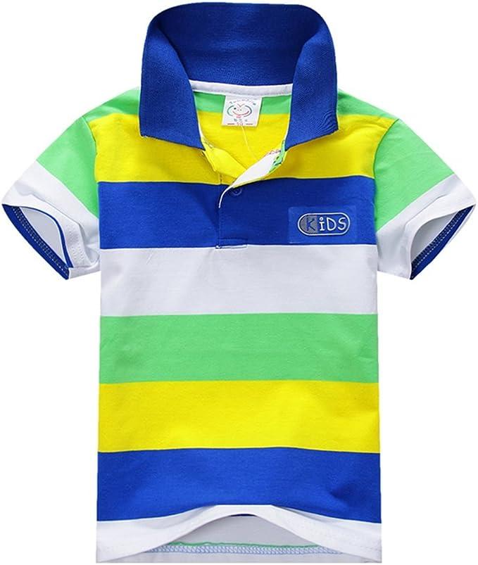 Summer Kids Polo Neck T-Shirt DJ Music 100/% Cotton Short Sleeve Tee Age 3 6 12