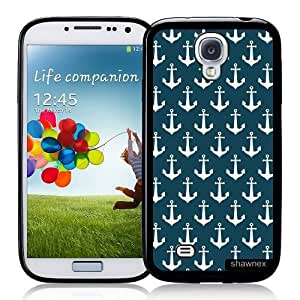 Cool Painting Galaxy S4 Case - S IV Case - Shawnex Nautical Anchors Pattern Samsung Galaxy i9500 Case Snap On Case