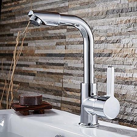 SAILUN Cascade Robinet mitigeur robinet d/évier pour le robinet bain m/élangeur lavabo salle de bain Cuisine