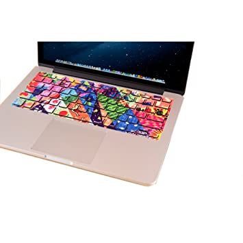 Amazon.com: lovedecal MacBook Air 11 Keyboard Skin MacBook ...