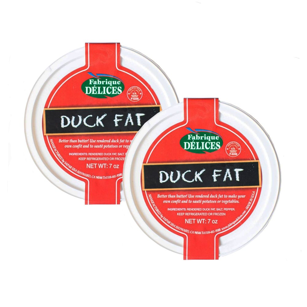 Rendered Duck Fat - Pork-Free (Pack of 2) by Fabrique Delices