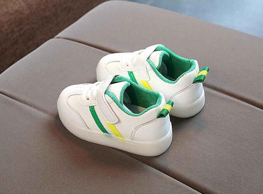 LED Zapatos de Verano Xinantime Zapatillas Deportivas para ni/ños Toddler Kids Zapatos de ni/ña Baby Girls Flower Zapatillas Luminosas LED con Zapatos 1-6 a/ños