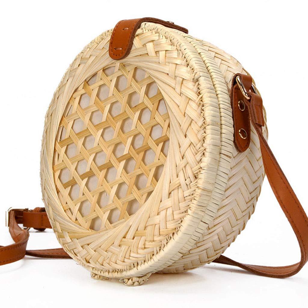 Women's Bag, Bamboo Handmade Bamboo Bag - Beach Bamboo Bag - Round Bamboo Bag - Bamboo Bag