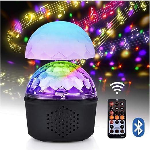 ZSSM Luces de Discoteca Proyector de Bola de Fiesta 9 Colores ...