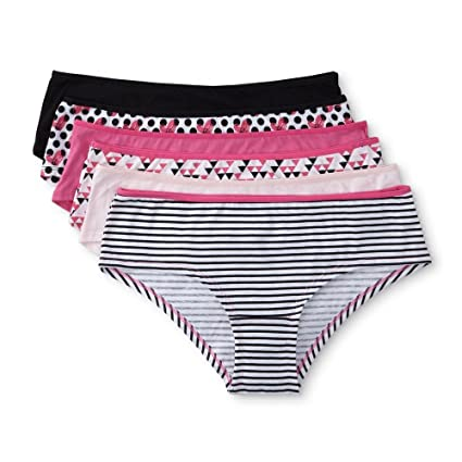 318979f29af Amazon.com   Joe Boxer Women s 6-pack Low-Rise Hipster Panties (Size 9)    Everything Else