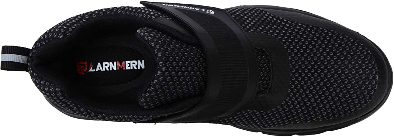 LARNMERN Chaussures de Securit/é Femme Respirables Ultra L/ég/ères Chaussures de Travail Antid/érapant