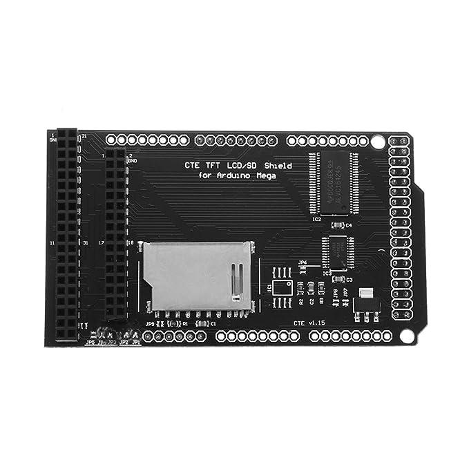 LaDicha Tft/SD Shield Tarjeta De Expansión para Arduino Mega ...
